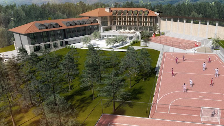 """Hotel """"Crni vrh"""" – baza kampa Deki5 na Divčibarama"""